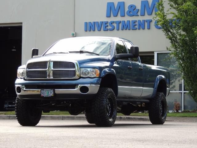 2003 Dodge Ram 2500 SLT / 4X4 / 5.9L Diesel HIGHOUTPUT/ 6-SPEED MANUAL - Photo 45 - Portland, OR 97217