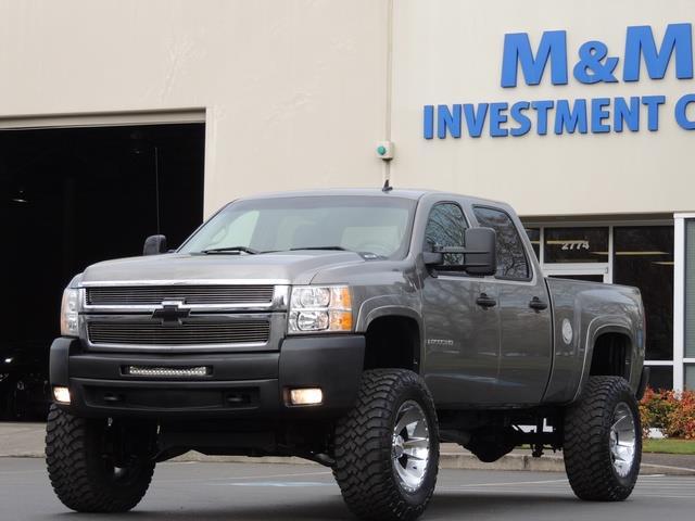 2008 Chevrolet Silverado 2500 Lt 4x4 6 0l 8cyl Gas