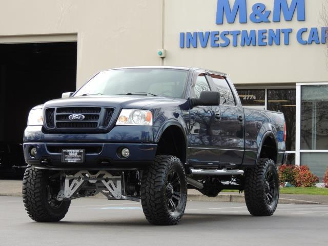 2007 ford f 150 lariat xlt 4dr supercrew fx4 lifted 37 mud. Black Bedroom Furniture Sets. Home Design Ideas
