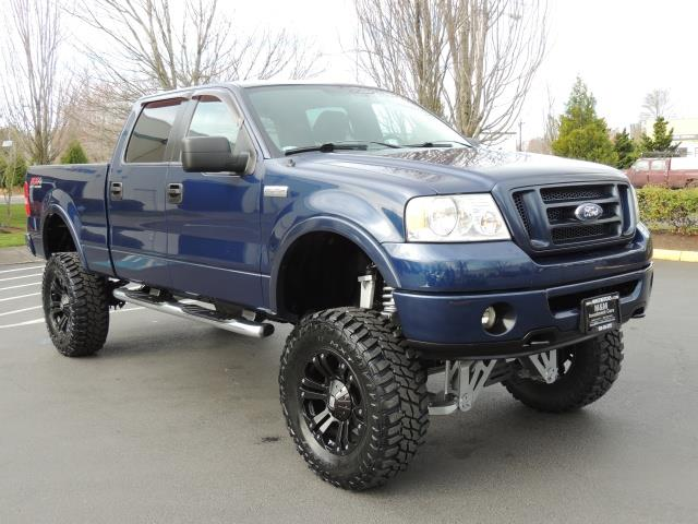 """2007 ford f-150 lariat xlt 4dr supercrew fx4 lifted 37"""" mud"""