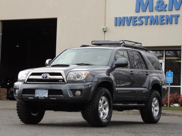 2006 Toyota 4runner Sport Edition 4dr Leather 2 Owner 107kmiles Lifted