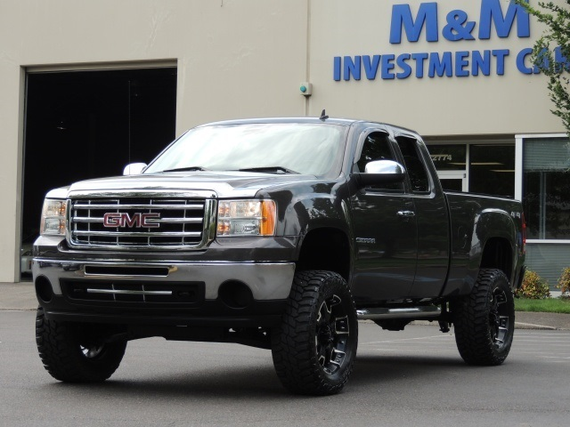 2010 gmc sierra 1500 sle 4x4 leather lifted lifted. Black Bedroom Furniture Sets. Home Design Ideas