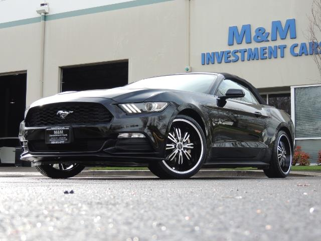 2016 Ford Mustang V6 / Convertible / Automatic / Premium Wheels - Photo 52 - Portland, OR 97217