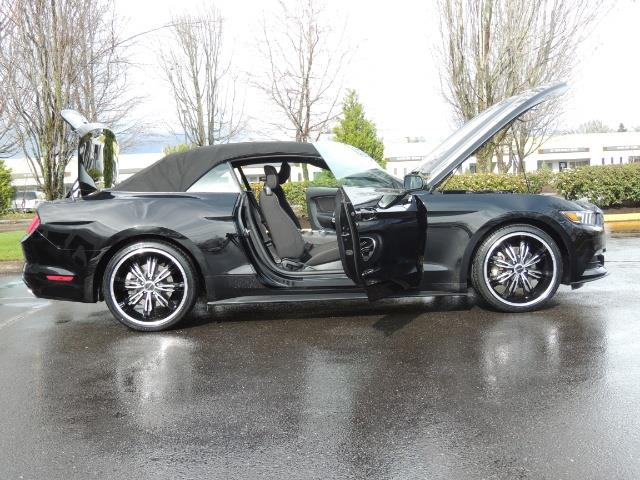 2016 Ford Mustang V6 / Convertible / Automatic / Premium Wheels - Photo 31 - Portland, OR 97217
