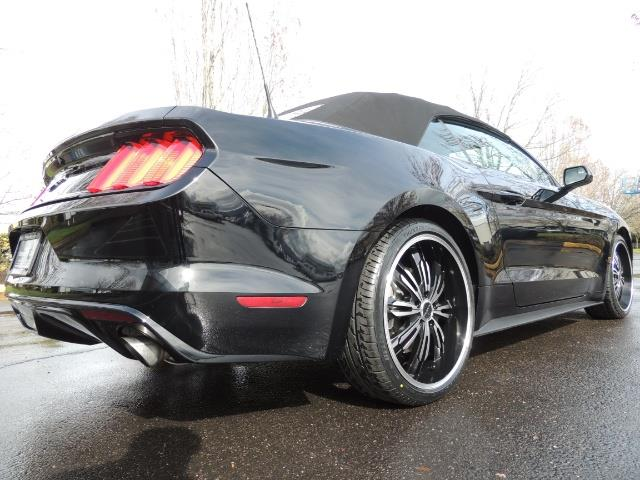 2016 Ford Mustang V6 / Convertible / Automatic / Premium Wheels - Photo 10 - Portland, OR 97217
