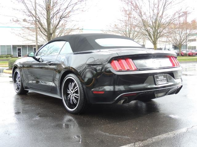 2016 Ford Mustang V6 / Convertible / Automatic / Premium Wheels - Photo 7 - Portland, OR 97217