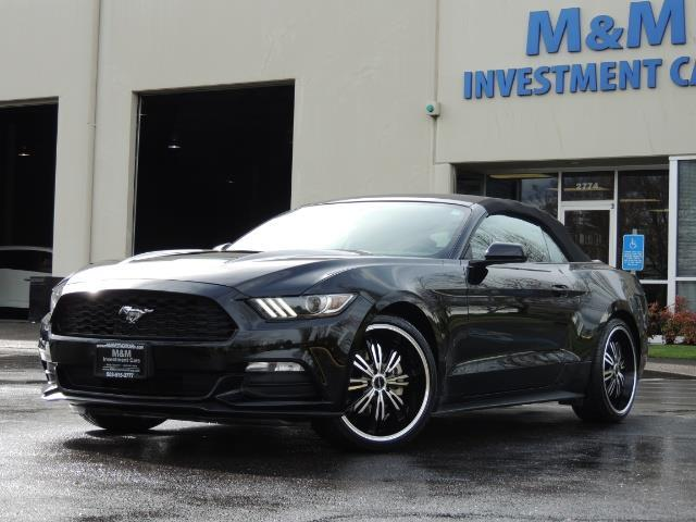 2016 Ford Mustang V6 / Convertible / Automatic / Premium Wheels - Photo 1 - Portland, OR 97217