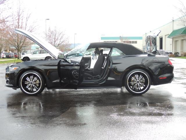 2016 Ford Mustang V6 / Convertible / Automatic / Premium Wheels - Photo 26 - Portland, OR 97217