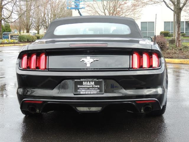 2016 Ford Mustang V6 / Convertible / Automatic / Premium Wheels - Photo 6 - Portland, OR 97217