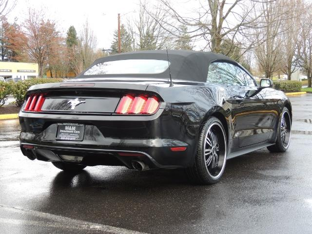 2016 Ford Mustang V6 / Convertible / Automatic / Premium Wheels - Photo 8 - Portland, OR 97217