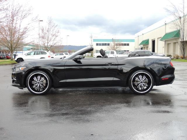 2016 Ford Mustang V6 / Convertible / Automatic / Premium Wheels - Photo 12 - Portland, OR 97217
