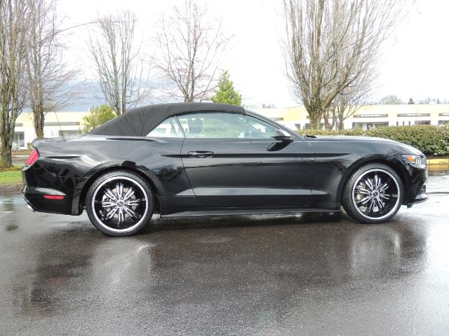 2016 Ford Mustang V6 / Convertible / Automatic / Premium Wheels - Photo 4 - Portland, OR 97217