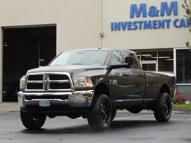 2015 Ram 2500 4x4 6 7l Diesel 6 Speed Lifted 6000 Miles