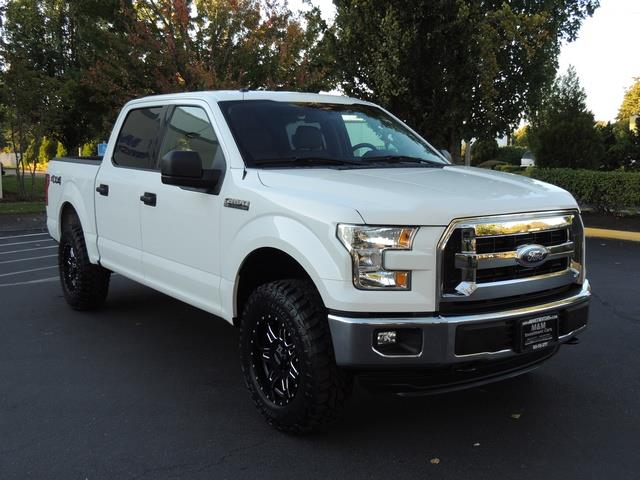 2016 Ford F150 Lifted >> 2016 Ford F 150 Xlt 4x4 5 0l 8cyl 1 Owner Lifted Lifted