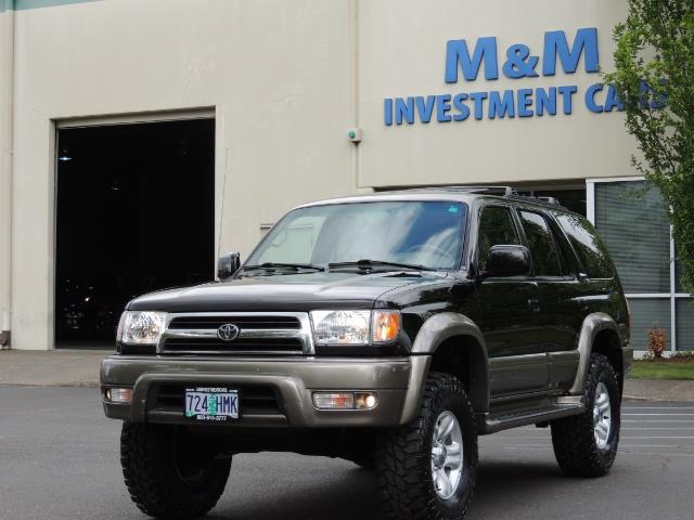 1999 Toyota 4Runner Limited 4WD / V6 / Leather / Sunroof / LIFTED - Photo 46 - Portland, OR 97217