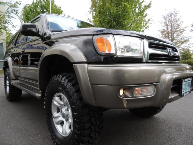 1999 Toyota 4Runner Limited 4WD / V6 / Leather / Sunroof / LIFTED - Photo 9 - Portland, OR 97217
