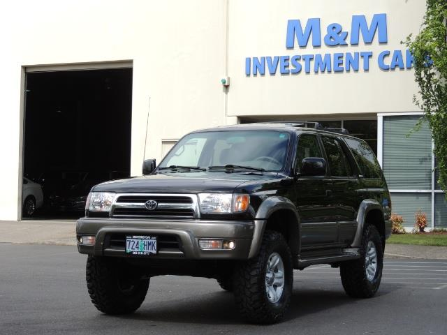 1999 Toyota 4Runner Limited 4WD / V6 / Leather / Sunroof / LIFTED - Photo 45 - Portland, OR 97217