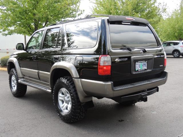 1999 Toyota 4Runner Limited 4WD / V6 / Leather / Sunroof / LIFTED - Photo 7 - Portland, OR 97217