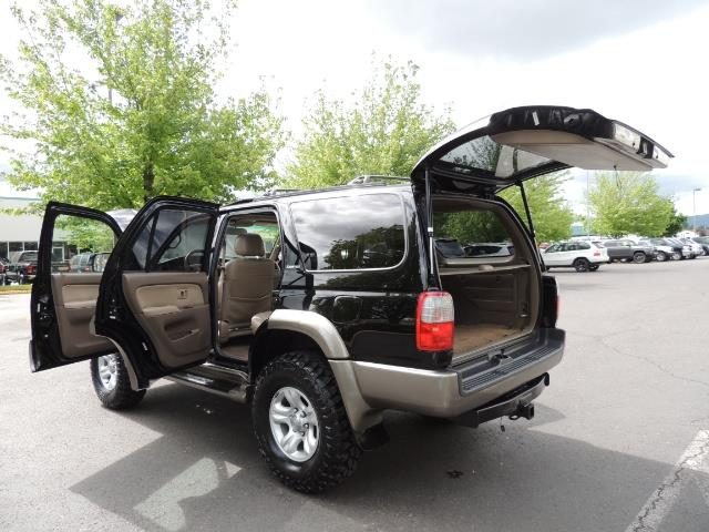 1999 Toyota 4Runner Limited 4WD / V6 / Leather / Sunroof / LIFTED - Photo 35 - Portland, OR 97217
