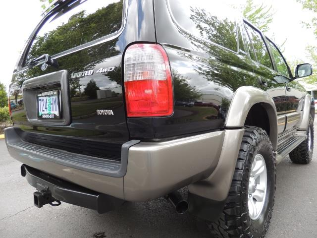 1999 Toyota 4Runner Limited 4WD / V6 / Leather / Sunroof / LIFTED - Photo 12 - Portland, OR 97217