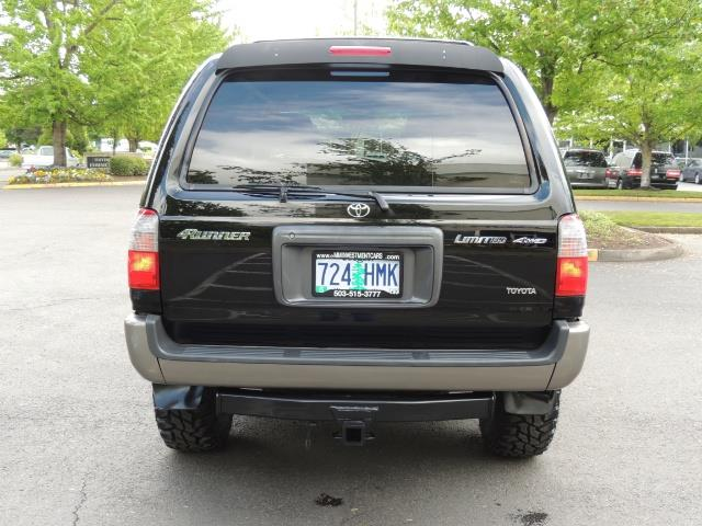 1999 Toyota 4Runner Limited 4WD / V6 / Leather / Sunroof / LIFTED - Photo 6 - Portland, OR 97217