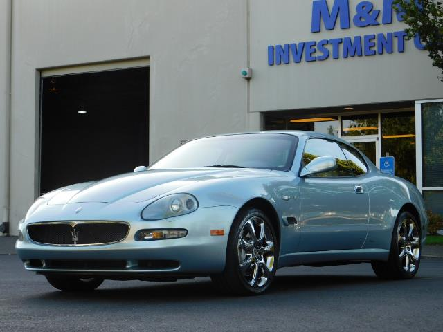 2004 Maserati Coupe Cambiocorsa / 2Dr Coupe / F1 Transmission / Excel - Photo 41 - Portland, OR 97217