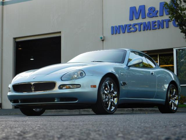 2004 Maserati Coupe Cambiocorsa / 2Dr Coupe / F1 Transmission / Excel - Photo 42 - Portland, OR 97217