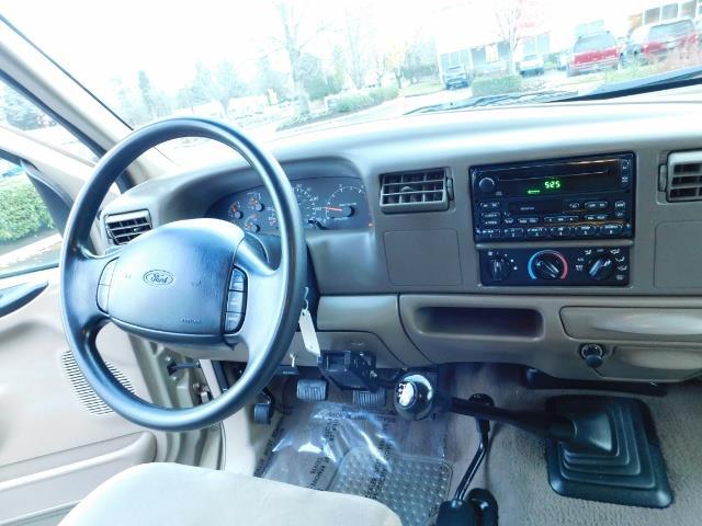 2000 Ford F-250 Super Duty XLT / 6-SPEED MANUAL / 4X4/ 7.3L DIESEL - Photo 19 - Portland, OR 97217