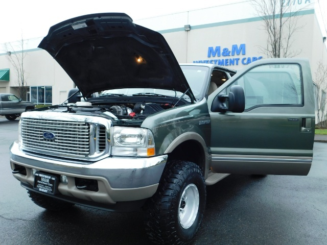 2002 Ford Excursion Limited 4X4 7.3L DIESEL / Leather / LIFTED LIFTED - Photo 25 - Portland, OR 97217