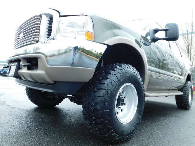2002 Ford Excursion Limited 4X4 7.3L DIESEL / Leather / LIFTED LIFTED - Photo 38 - Portland, OR 97217