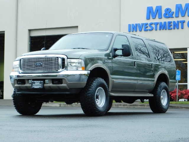 2002 Ford Excursion Limited 4X4 7.3L DIESEL / Leather / LIFTED LIFTED - Photo 50 - Portland, OR 97217