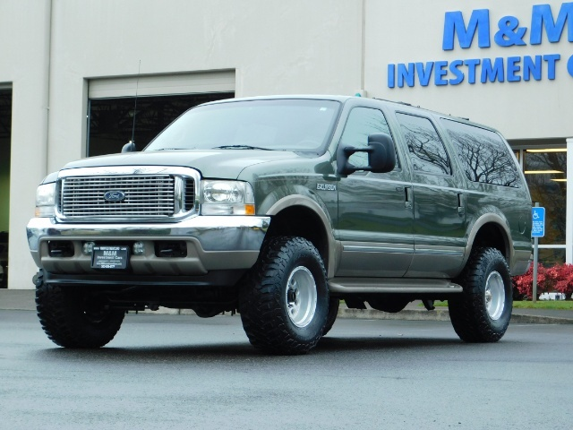 2002 Ford Excursion Limited 4X4 7.3L DIESEL / Leather / LIFTED LIFTED - Photo 48 - Portland, OR 97217