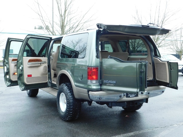 2002 Ford Excursion Limited 4X4 7.3L DIESEL / Leather / LIFTED LIFTED - Photo 27 - Portland, OR 97217