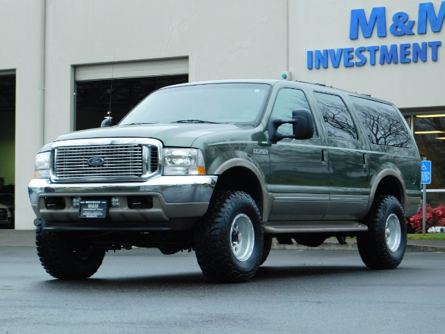 2002 Ford Excursion Limited 4X4 7.3L DIESEL / Leather / LIFTED LIFTED - Photo 47 - Portland, OR 97217