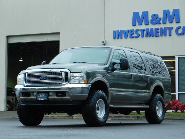 2002 Ford Excursion Limited 4X4 7.3L DIESEL / Leather / LIFTED LIFTED - Photo 1 - Portland, OR 97217