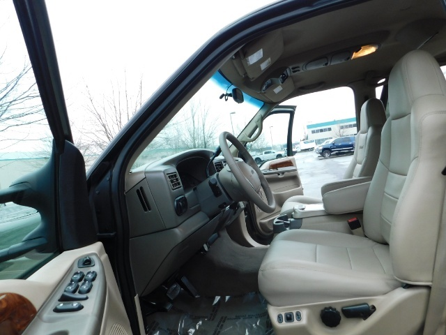 2002 Ford Excursion Limited 4X4 7.3L DIESEL / Leather / LIFTED LIFTED - Photo 12 - Portland, OR 97217