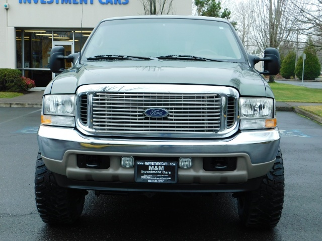 2002 Ford Excursion Limited 4X4 7.3L DIESEL / Leather / LIFTED LIFTED - Photo 5 - Portland, OR 97217