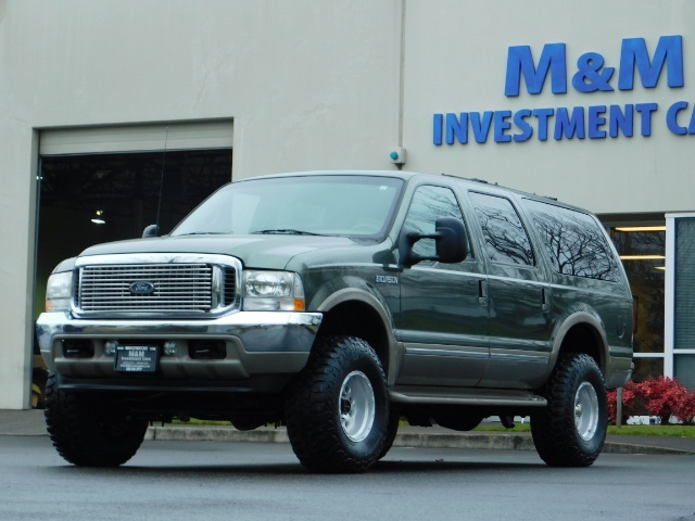 2002 Ford Excursion Limited 4X4 7.3L DIESEL / Leather / LIFTED LIFTED - Photo 44 - Portland, OR 97217