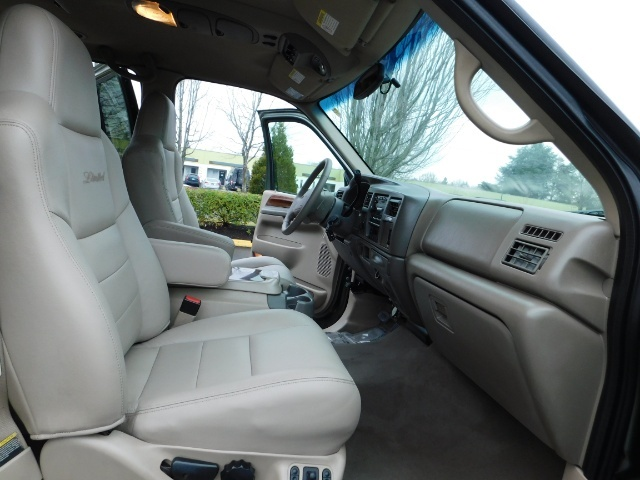 2002 Ford Excursion Limited 4X4 7.3L DIESEL / Leather / LIFTED LIFTED - Photo 16 - Portland, OR 97217