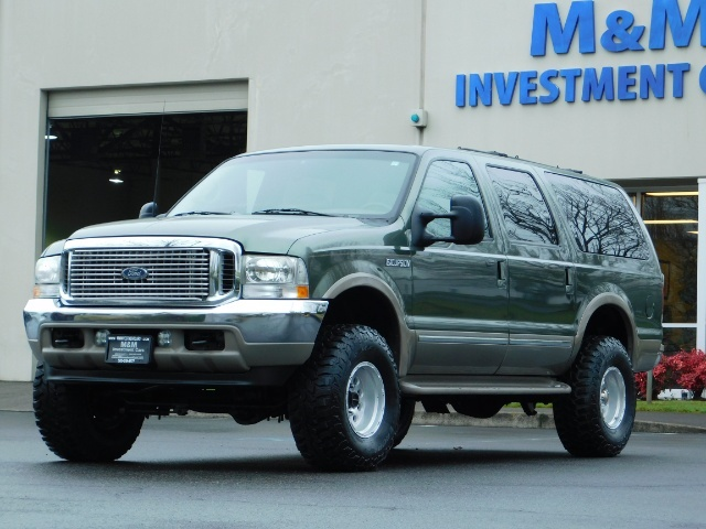 2002 Ford Excursion Limited 4X4 7.3L DIESEL / Leather / LIFTED LIFTED - Photo 45 - Portland, OR 97217