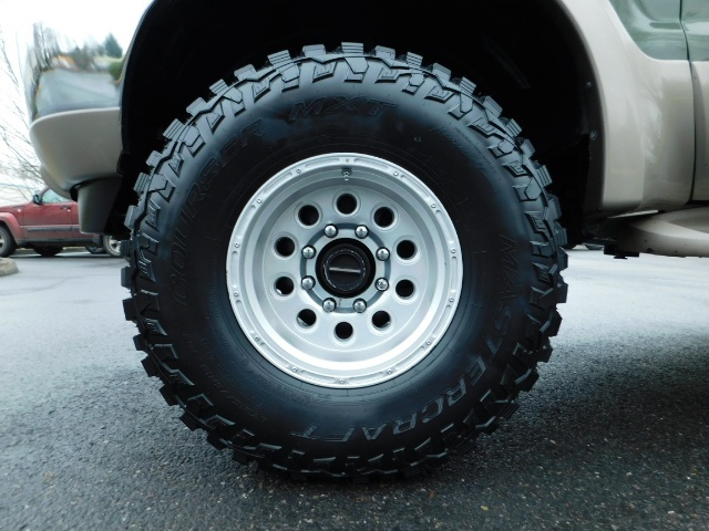 2002 Ford Excursion Limited 4X4 7.3L DIESEL / Leather / LIFTED LIFTED - Photo 23 - Portland, OR 97217