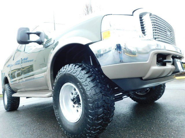 2002 Ford Excursion Limited 4X4 7.3L DIESEL / Leather / LIFTED LIFTED - Photo 39 - Portland, OR 97217