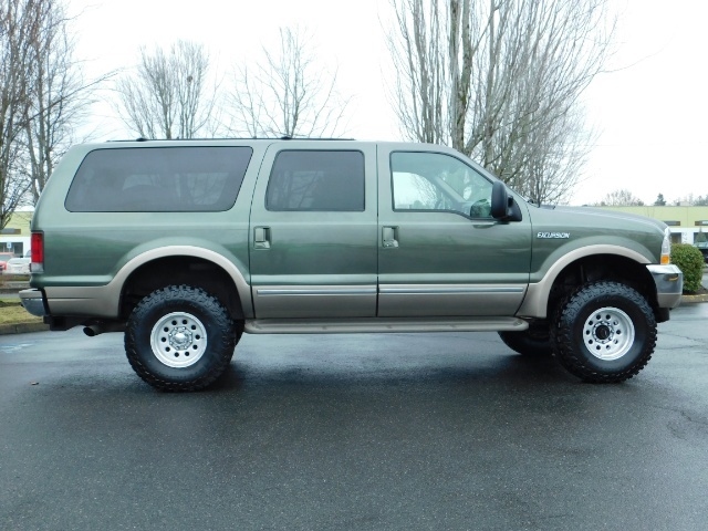 2002 Ford Excursion Limited 4X4 7.3L DIESEL / Leather / LIFTED LIFTED - Photo 4 - Portland, OR 97217