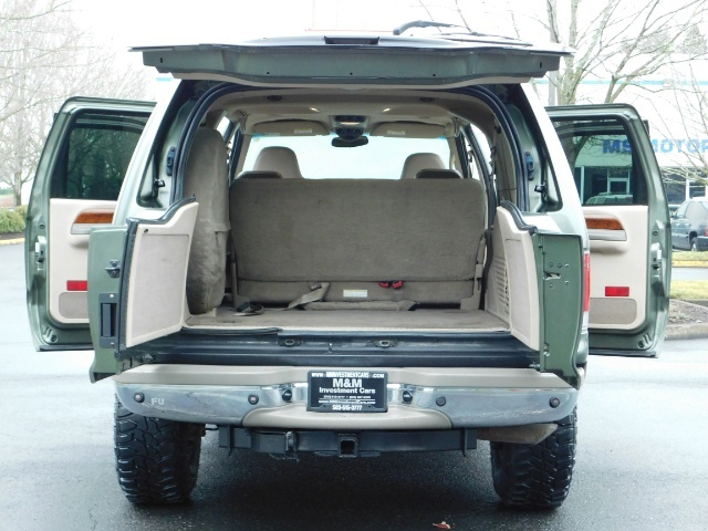 2002 Ford Excursion Limited 4X4 7.3L DIESEL / Leather / LIFTED LIFTED - Photo 22 - Portland, OR 97217