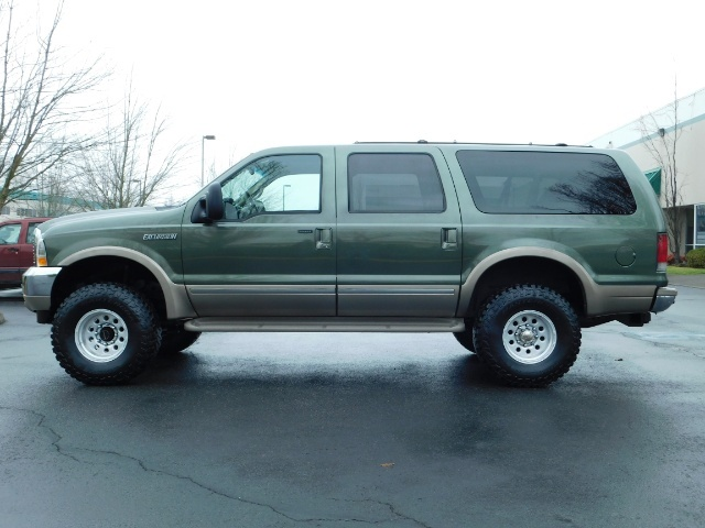 2002 Ford Excursion Limited 4X4 7.3L DIESEL / Leather / LIFTED LIFTED - Photo 3 - Portland, OR 97217