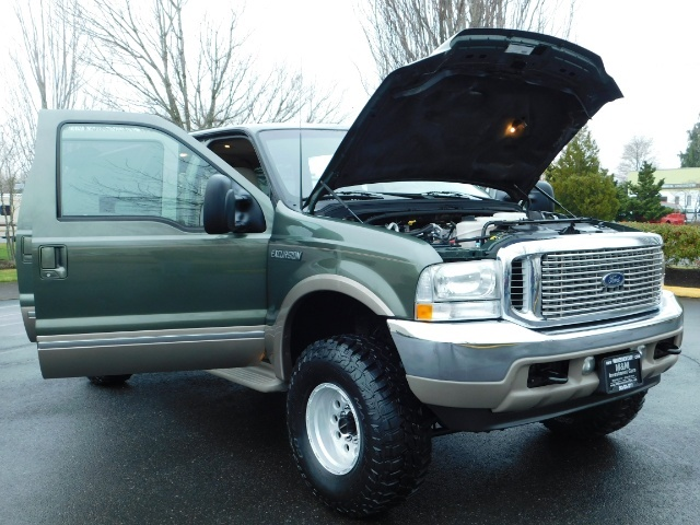 2002 Ford Excursion Limited 4X4 7.3L DIESEL / Leather / LIFTED LIFTED - Photo 31 - Portland, OR 97217