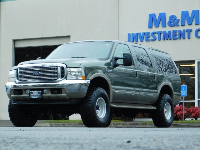 2002 Ford Excursion Limited 4X4 7.3L DIESEL / Leather / LIFTED LIFTED - Photo 46 - Portland, OR 97217