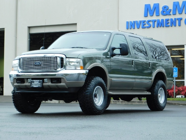 2002 Ford Excursion Limited 4X4 7.3L DIESEL / Leather / LIFTED LIFTED - Photo 49 - Portland, OR 97217