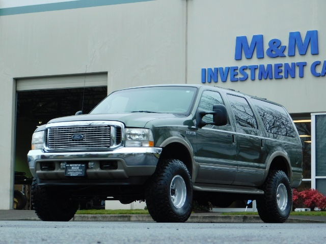 2002 Ford Excursion Limited 4X4 7.3L DIESEL / Leather / LIFTED LIFTED - Photo 43 - Portland, OR 97217