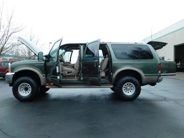 2002 Ford Excursion Limited 4X4 7.3L DIESEL / Leather / LIFTED LIFTED - Photo 26 - Portland, OR 97217